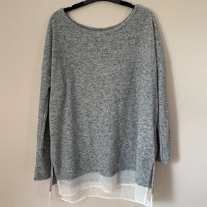 SILENCE + NOISE (UO) OVERSIZED SWEATER (small)